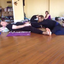 Becky & John - Partner Yoga