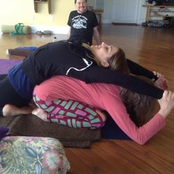 Linda & Becky - Partner Yoga