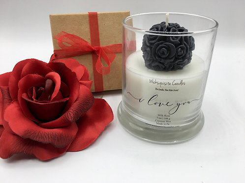 Bouquet of Roses - 3D Candle