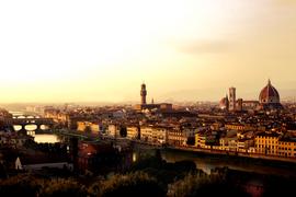 Golden Hour em Firenze