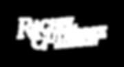 Rachel Gutierrez - Logo Stacked - White.