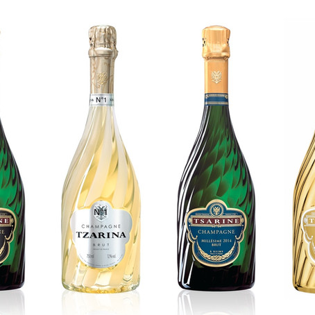 The US's Wine Enthusiast Magazine Awards Four Excellent Ratings to Tsarine Champagnes