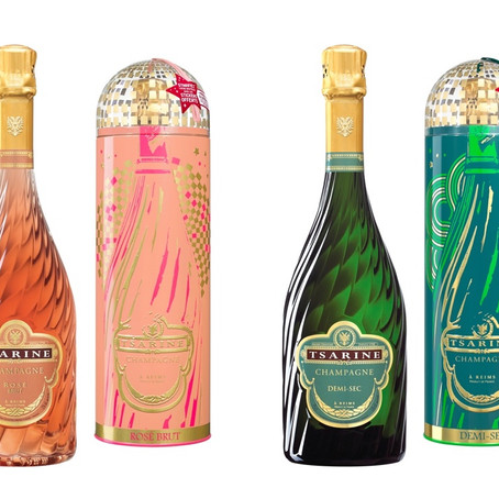 Tsar'In Box 2019, le décor disco-pop des champagnes Tsarine