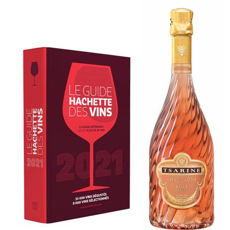 Guide Hachette des vins 2021 : une nouvelle étoile pour Tsarine Rosé