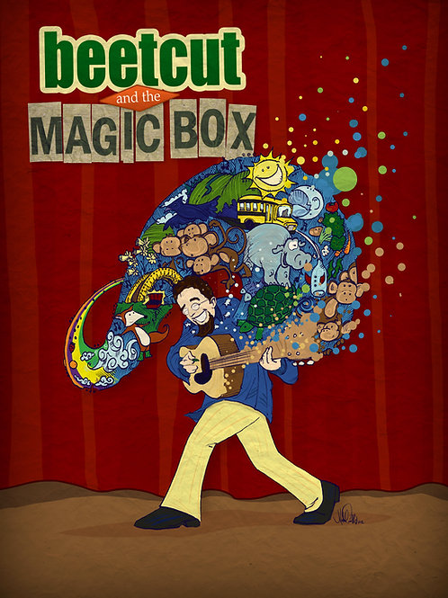 Beetcut and the Magic Box CD