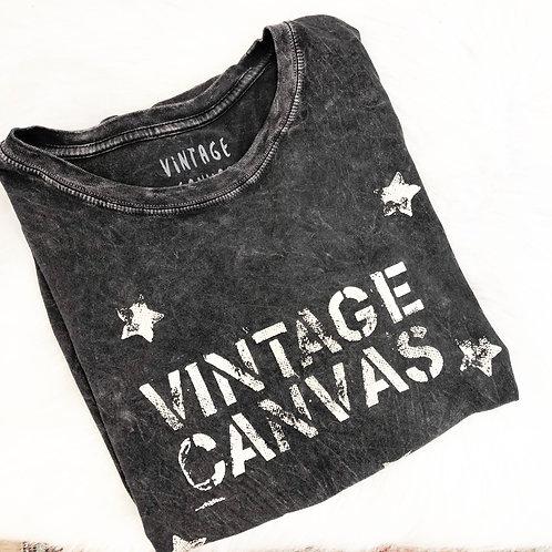 Vintage Canvas T-Shirt