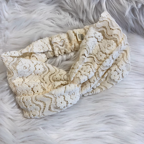 Floral Lace Headband