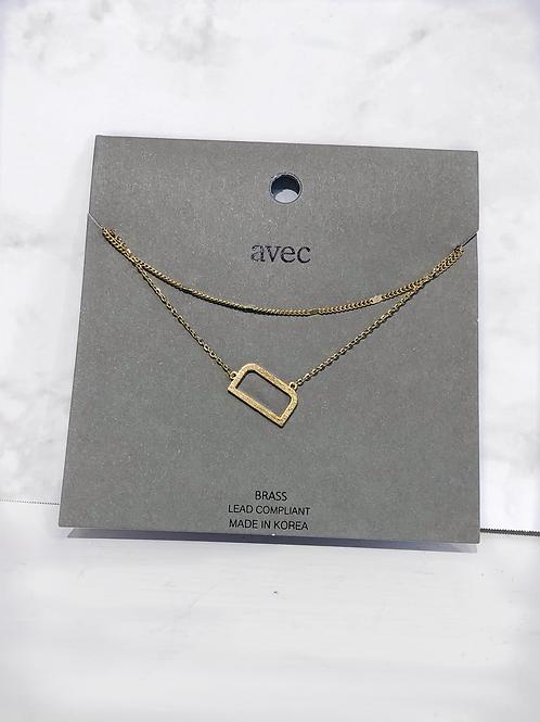 """D"" Initial Necklace"