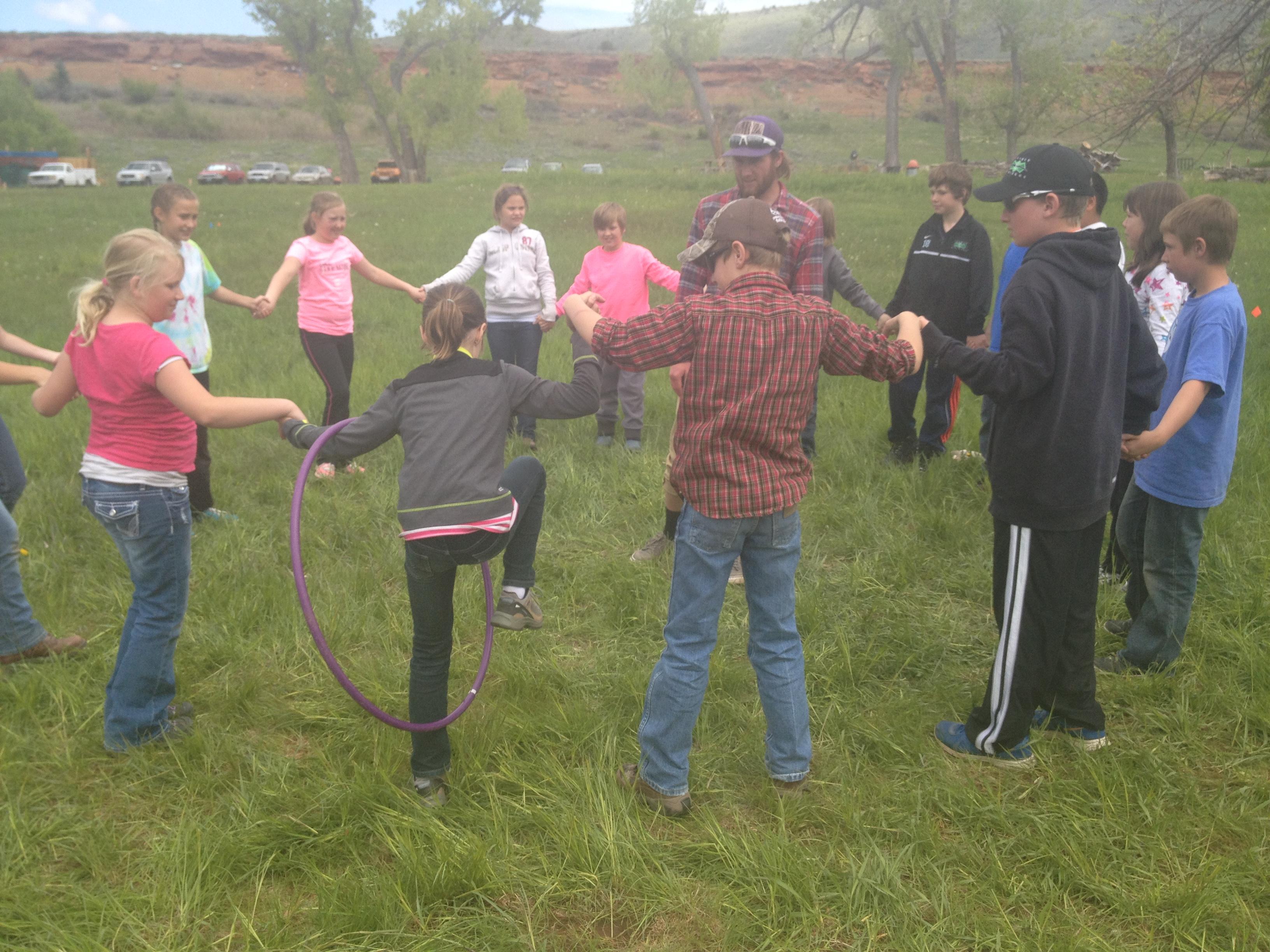 5th graders Teambuilding