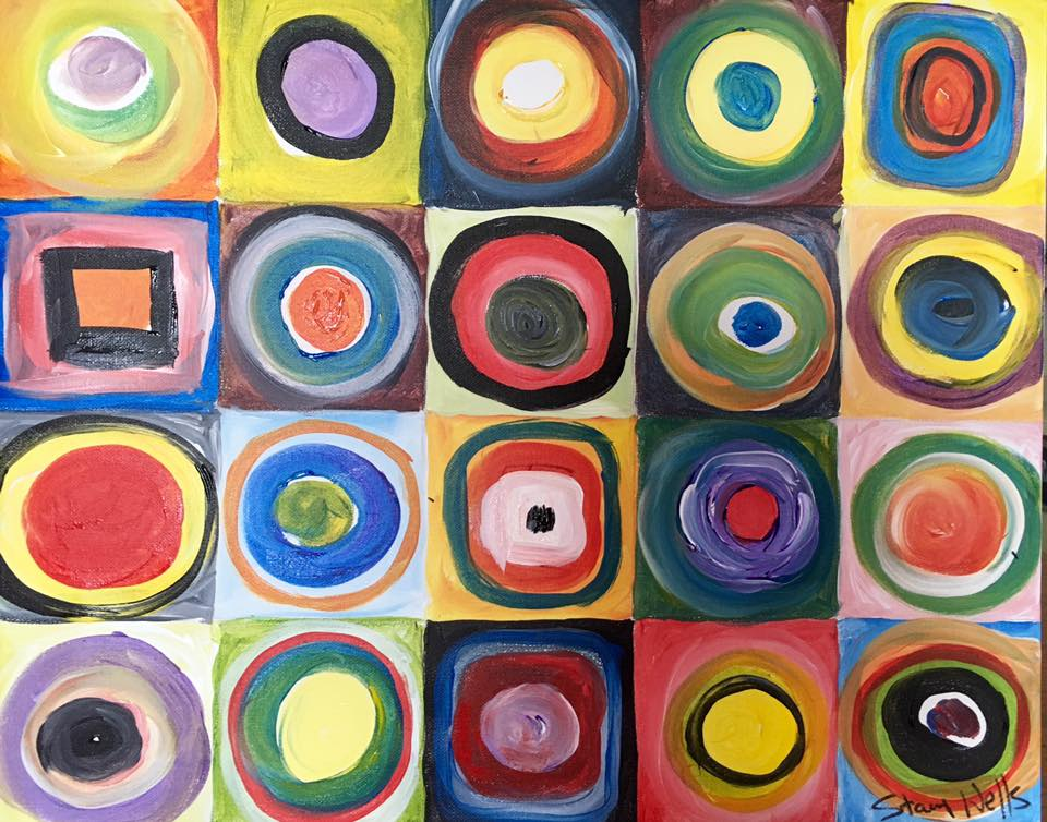 Kandinsky would be proud