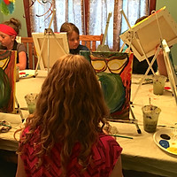 Katelyn's Birthday Painting Party
