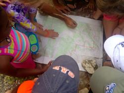 Kids map reading