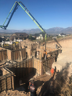 Wall Pour