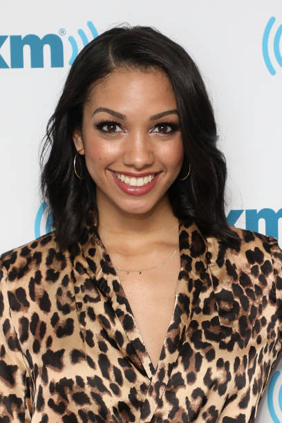 Corinne Foxx at SiriusXM