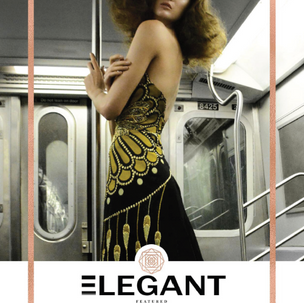 Front Cover Editorial For Elegant Mag