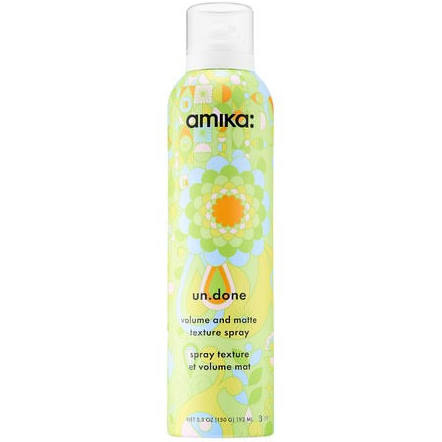 Fluff up your hair by creating tons of texture with this texturing spray.