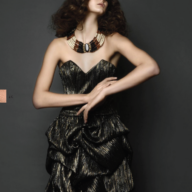 Front cover editorial for Elegant magazine Using Nars Cosmetics.