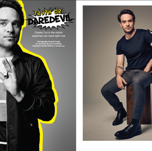 Charlie Cox For Sharp Magazine