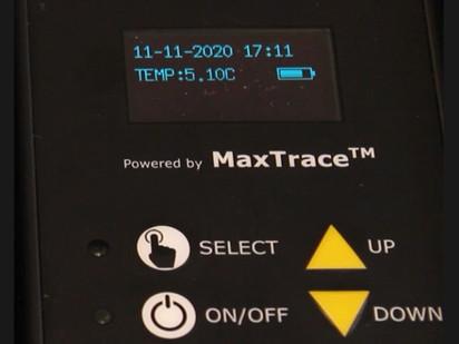 MaxTrace logger display