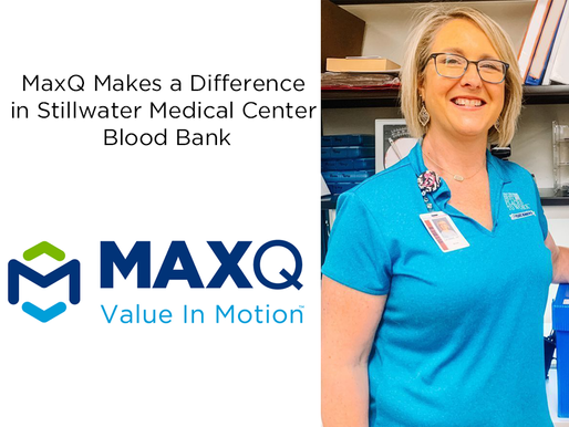 MaxQ Makes a Difference in Stillwater Medical Center Blood Bank