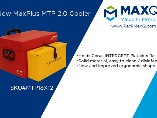 Upgrade your MTP Deliveries with MaxPlus MTP Cooler® 2.0