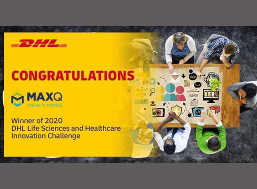 MaxQ Research Wins 2020 DHL Innovation Challenge