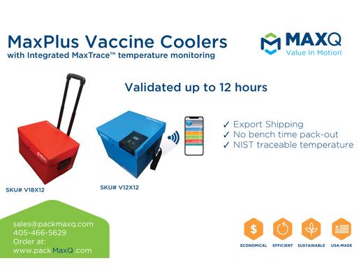MaxQ Launches New MaxPlus Vaccine Cooler