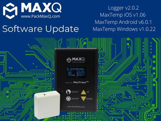 2021 MaxPlus Alpha Sensor and Controller Updates; MaxTemp app updates