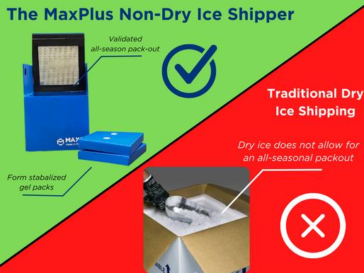 MaxQ's Non-Dry Ice Shipper for Freshly Frozen Plasma (FFP)