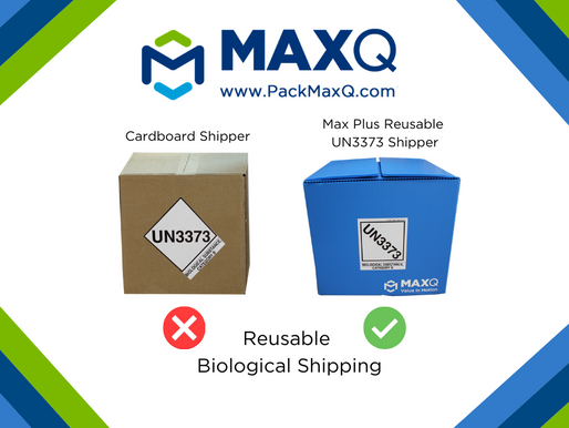 Cut Back on Waste with the Reusable UN3373 Shipper