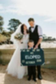 Olivia & Denis elope to Phillip Island