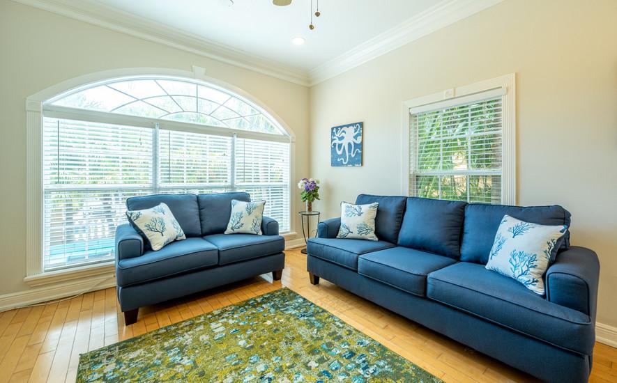 AMI Villa living room