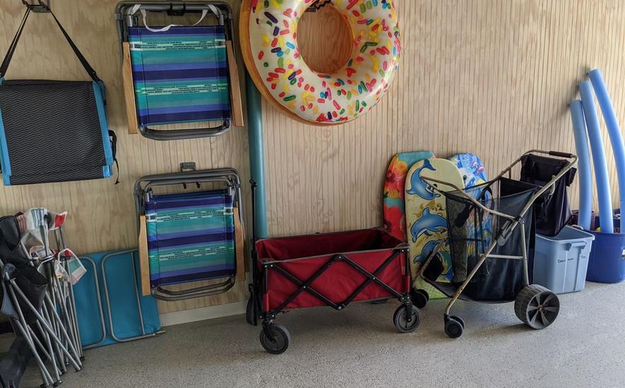 Supplies for the beach