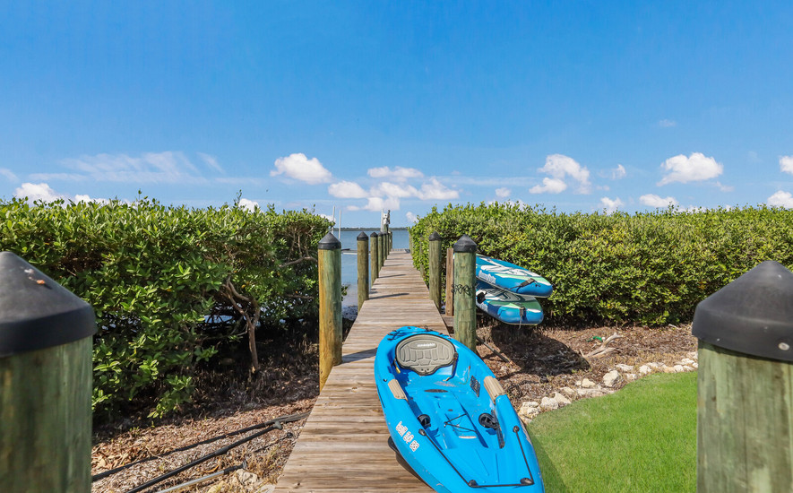 Paddle boards and kayak
