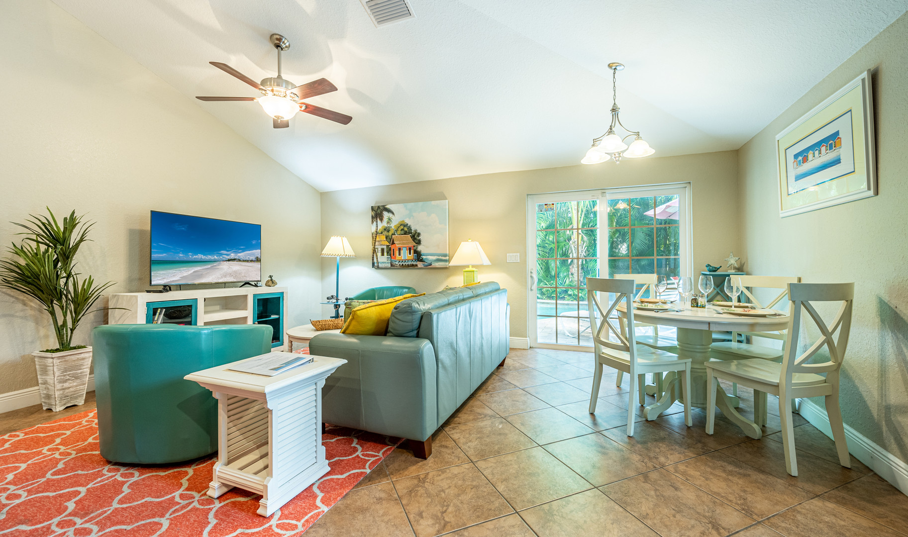 Beach Daze open floor plan