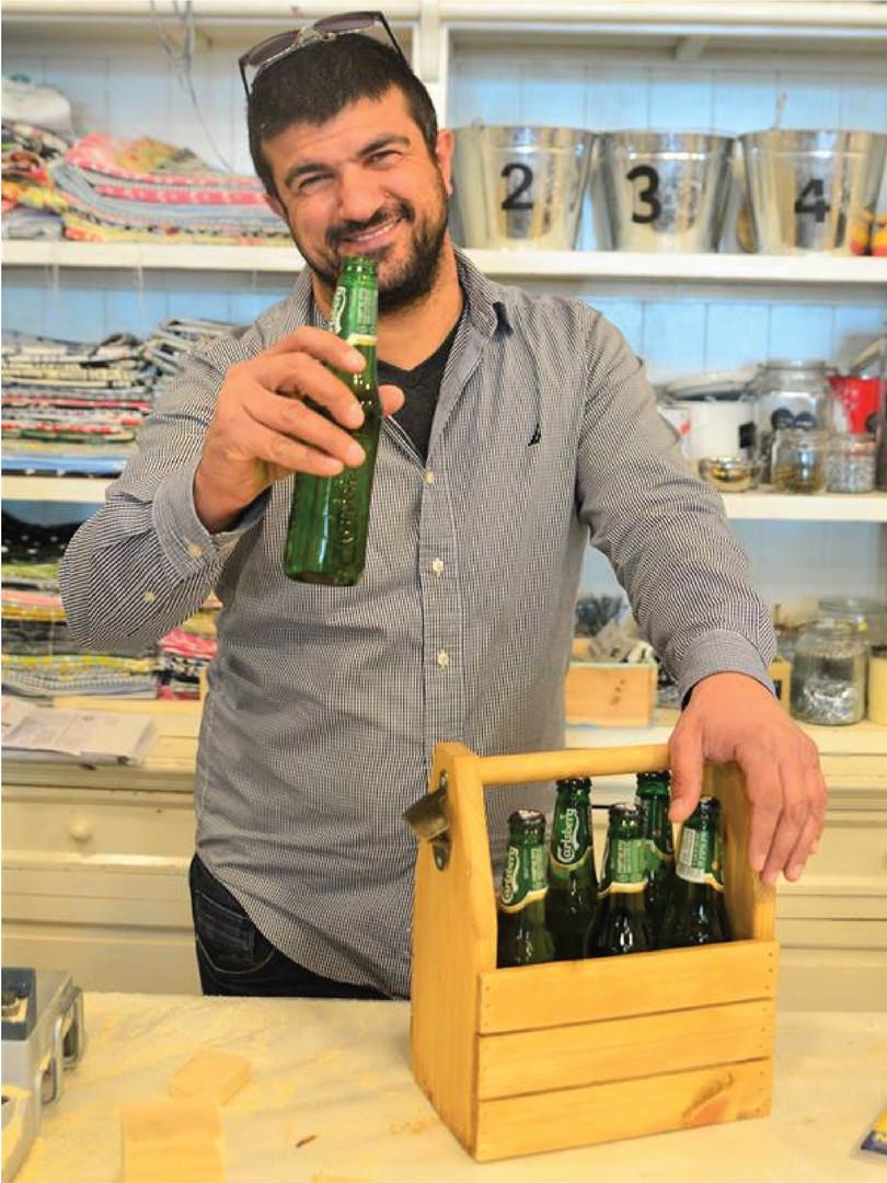 סדנא לבניית ארגז בירה