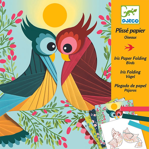יצירה -עבודה עם ניירות ציפורים