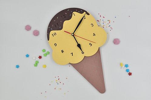 שעון גלידה לעיצוב