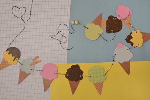 ערכת גלידות- נייר