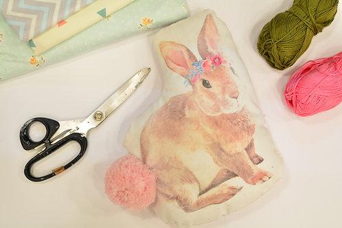 כרית ארנב- ערכת תפירה והדפסה