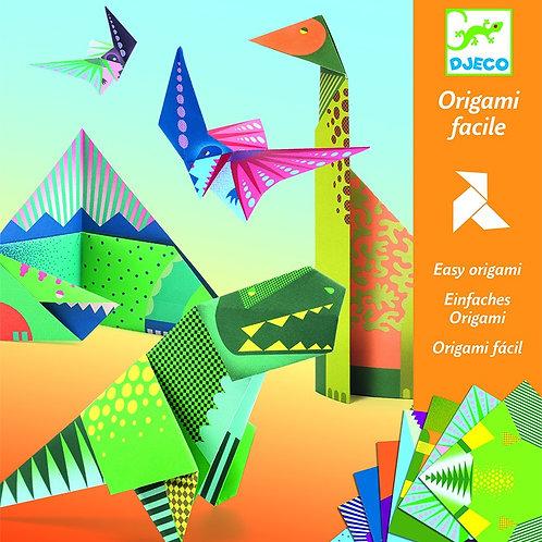 יצירה - אוריגמי דינוזאורים
