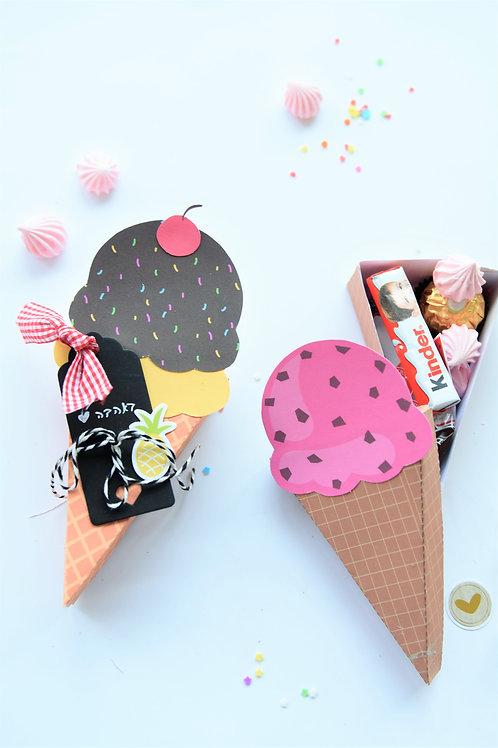 קופסאות גלידה מתוקות