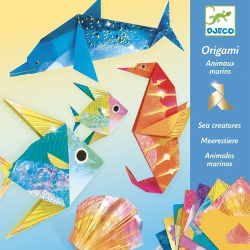 יצירה - אוריגאמי תת ימי