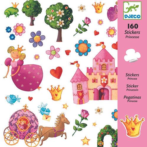 יצירה - 160 מדבקות נסיכות