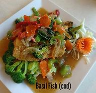 Basil Fish With Cod