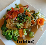Basil Fish With Cod