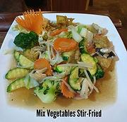 Mix Vegetables Stir-Fried