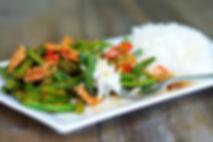 Spicy Green Bean ( pad-prik-king-4