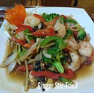 Ginger Stir-Fried