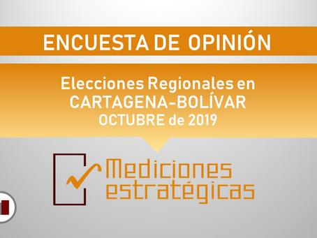 ENTREGA FINAL: RESULTADOS ENCUESTA ELECCIONES REGIONALES BOLÍVAR